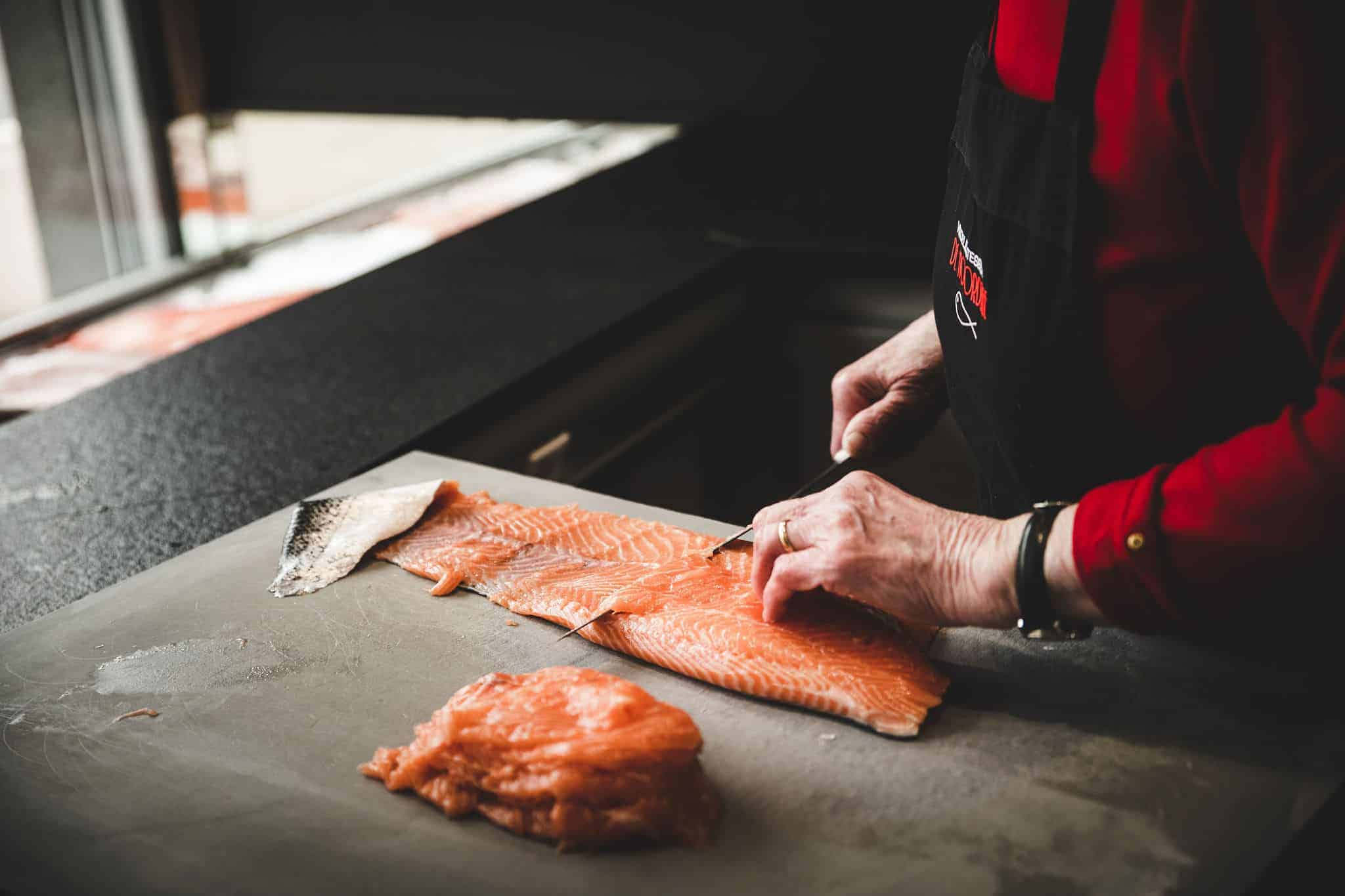 over ons visdelicatessen vishandel De Noordzee Destelbergen